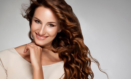 A Women's Haircut with Shampoo and Style from Salon Mathis (55% Off)