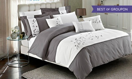 7-Piece 100% Cotton Comforter or Duvet Cover Set. Multiple Options from $79.99–$89.99.