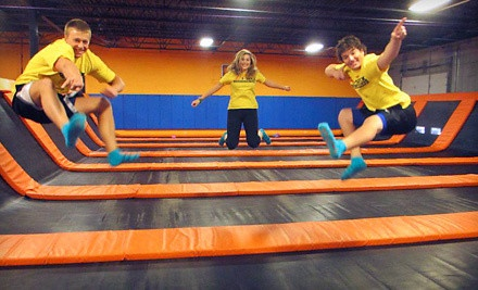 One Hour of Trampoline Jump Time for Two or Four or Five Maxxercise Classes at AirMaxx Trampoline Park  (Half Off)