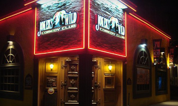 Joker's Wild Comedy Club - Joker's Wild Comedy Club: Comedy Night with Pub Fare and Drinks for Two or Four at Joker's Wild Comedy Club in New Haven (Up to 55% Off)
