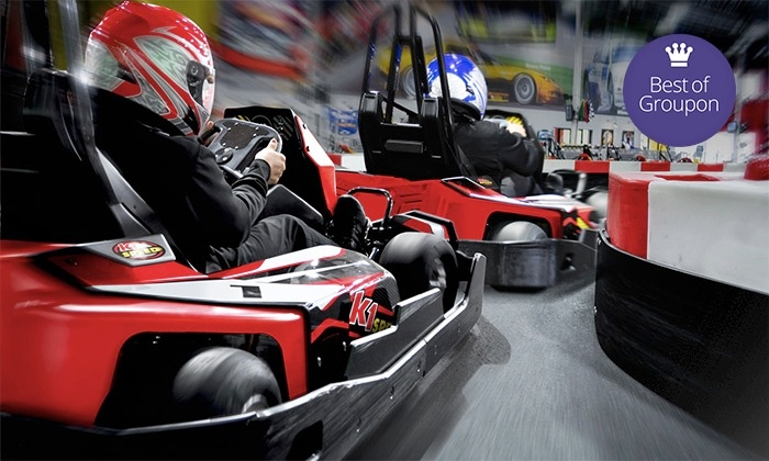 K1 Speed - Austin: $44 for a Racing Package with Four Races and Two Yearly Licenses at K1 Speed (Up to $91.96 Value)