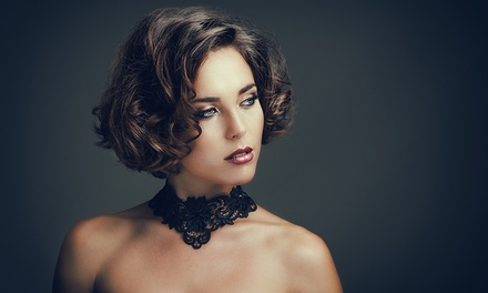 $49 for a Wash, Cut, and BlowDry or Curl Finish or $59 with a Kérastase Treatment at Makardi Salon Up to $132 Value