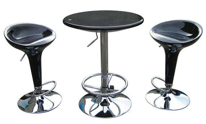 Boraam Adjustable Pub Furniture Set ...
