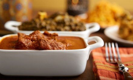Modern Indian Food and Drinks for Dine-In or Takeout at Tanduri Fusion (Up to 43% Off). Three Options Available.