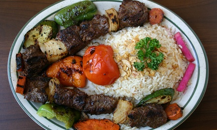Mediterranean Cuisine at Shishko Grill (Up to 52% Off). Two Options Available.