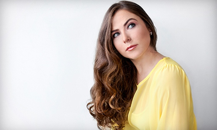 Erika Taylor Urban Spa - Columbus: Haircut and Style, Partial Highlights or Color Retouch, or a Brazilian Blowout at Erika Taylor Urban Spa (Up to 74% Off)