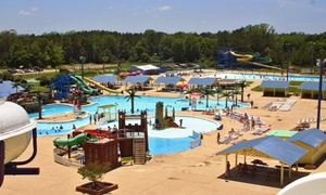 Splash Kingdom Waterparks: Visit for Two or Four with Combo-Meal Vouchers at Splash Kingdom Waterparks (Up to 36% Off)