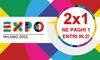 2 biglietti per Expo 2015