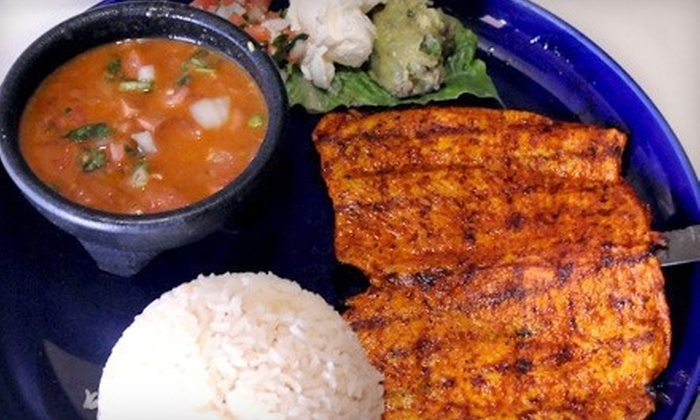 Guadalajara Cafe - Multiple Locations: Mexican Food at Guadalajara Cafe (Up to 56% Off). Two Options Available.