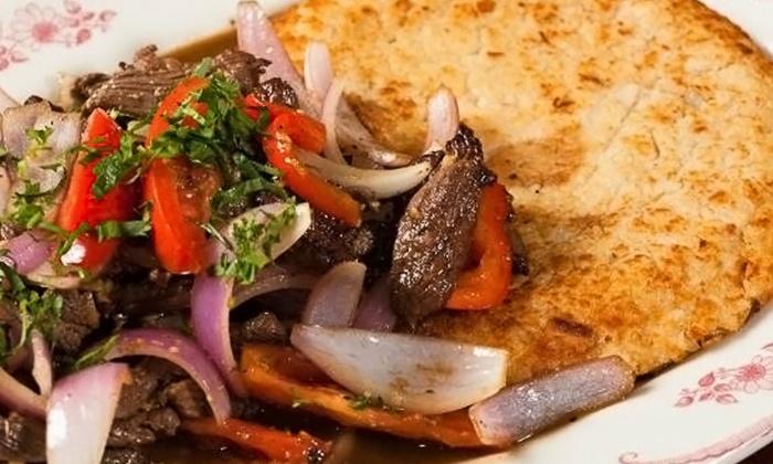 La Rosa Nautica Restaurant - Winfield Park: $20 for $35 Worth of Peruvian Cuisine for Two or More at La Rosa Nautica Restaurant