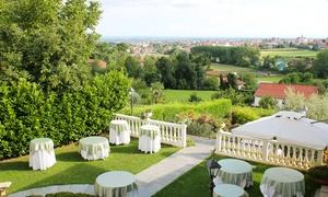 Villa Les Reves Restaurant: Menu 20 portate a scelta, dagli antipasti al dolce, con vino per 2 persone alla Villa Les Reves Restaurant (sconto 65%)