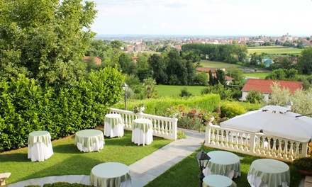 Menu 20 portate a scelta, dagli antipasti al dolce, con vino per 2 persone alla Villa Les Reves Restaurant (sconto 65%)