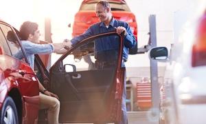 Selbsthilfewerkstatt: Kompletter Winter- oder Sommer-Auto-Check inkl. Reifenwechsel in der Selbsthilfewerkstatt (60% sparen*)