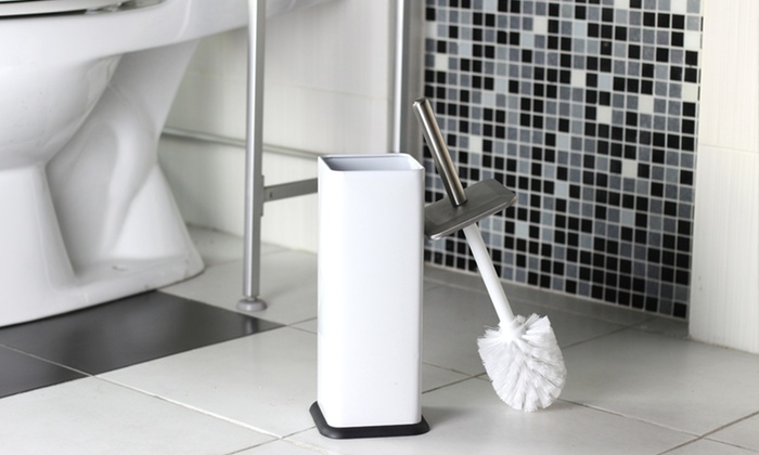 Colored Stainless Steel Toilet-Brush Sets: Colored Stainless Steel Toilet-Brush Sets. Multiple Colors Available. Free Returns.