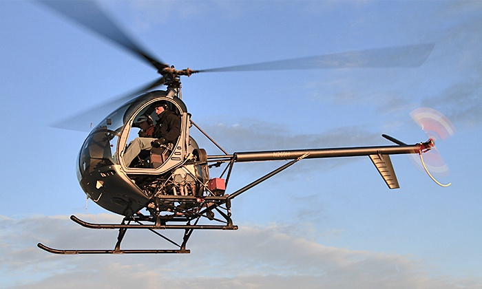 Bachman Aero - Schaumburg: 30- or 60-Minute Introductory Helicopter Flying Lesson and Flight at Bachman Aero (Up to 54% Off)