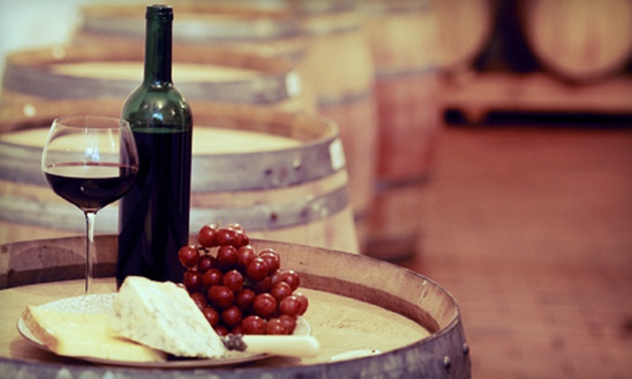 Nuyaka Creek Winery - Kellyville-Slick: Wine Tasting and Cheese Platter for Two or Four at Nuyaka Creek Winery in Bristow (53% Off)