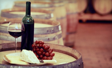 Wine Tasting for 2 People and an Assorted Cheese Platter (a $30 value) - Nuyaka Creek Winery in Bristow
