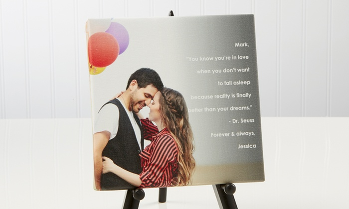 Personalization Mall: Personalization Mall Personalized Tabletop Canvas Print
