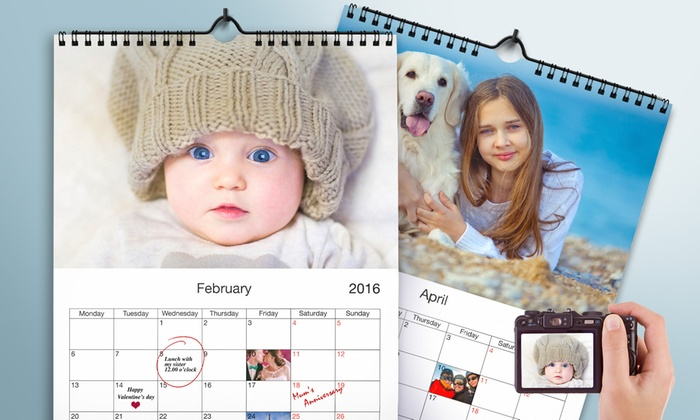 Printerpix: Custom Photo Calendars from Printerpix. Four Options Available.