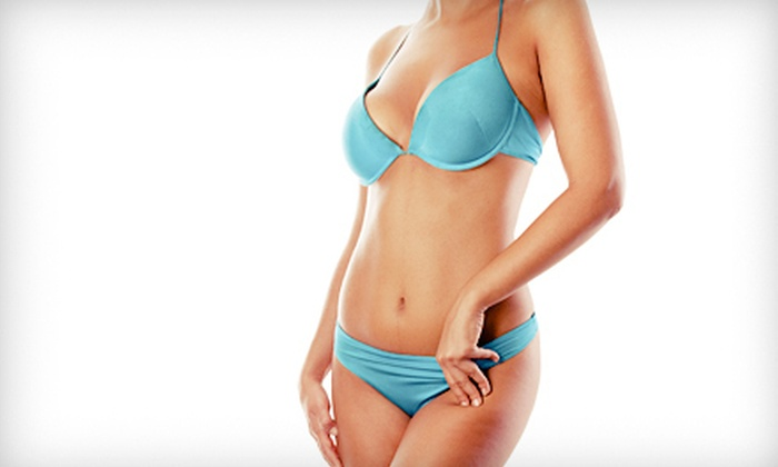Emerald Coast Med Spa & Wellness - Navarre: One, Three, or Five Airbrush Spray Tans at Emerald Coast Med Spa & Wellness in Navarre (Up to 67% Off)