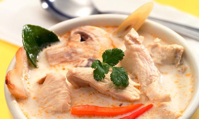 Sala Thai - Multiple Locations: Thai Cuisine and Sushi at Sala Thai (45% Off). Four Options Available.