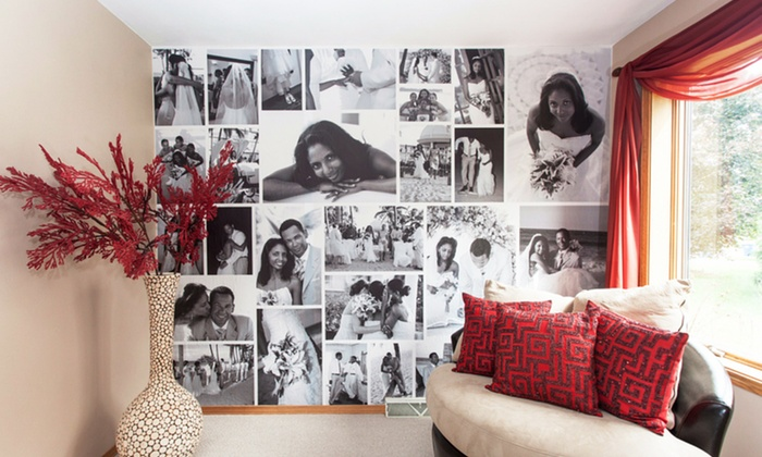 WeMontage: Custom Photo Removable Wallpaper from WeMontage (Up to 54% Off)