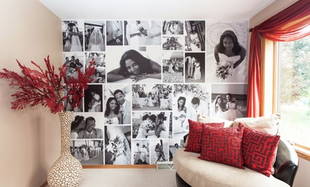 Custom Photo Removable Wallpaper from WeMontage (Up to 54% Off)