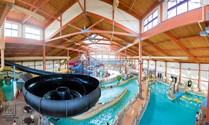 Fort Rapids Indoor Waterpark: Daily, Seasonal, or Annual Water-Park Pass for 1, 2, 4, 6, or 8 at Fort Rapids Indoor Waterpark (Up to 94% Off)