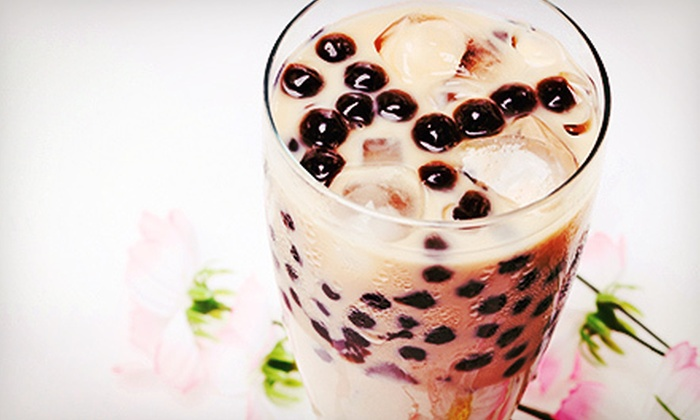 Teariffic Cafe - Chinatown: Five Cups of Coffee or Tea, or $12 for $25 Worth of Beverages, Desserts, and Asian Food at Teariffic Cafe