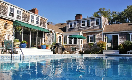 2 Nights for Two with a Welcome Basket and Daily Breakfast at the Pet Friendly Lamb and Lion Inn in Cape Cod, MA