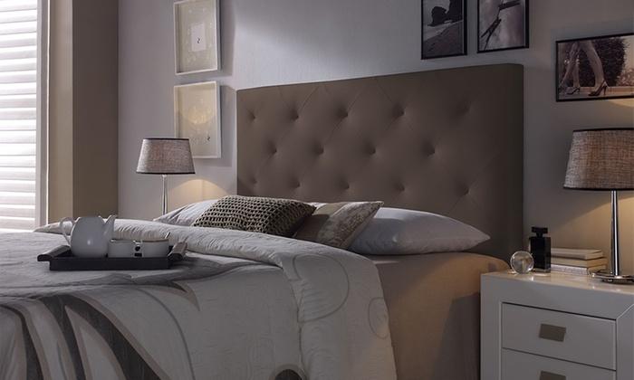 t te de lit en diff rents mod les groupon. Black Bedroom Furniture Sets. Home Design Ideas