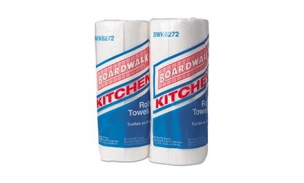 Boardwalk 85-Sheet Paper Towel Rolls; 30 Rolls