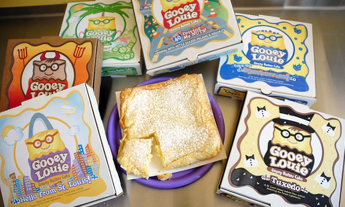 Gooey Louie - Lindenwood Park: One or Two Gooey Butter Cakes at Gooey Louie (Up to 33% Off)