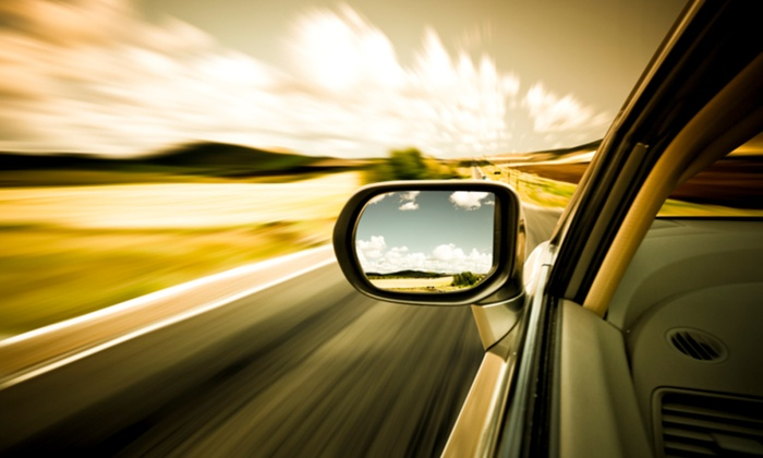 HP Racing - Glen Burnie: $98 for Full Car-Window Tinting for Up to Five Windows at HP Racing ($180 Value)
