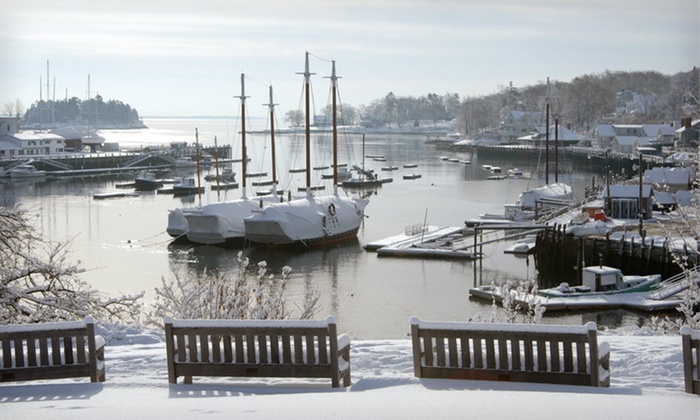 Camden Harbour Inn - Camden, ME: Two-Night Stay for Two, with $25 Off per Person on Tasting Menu at Camden Harbour Inn in Maine