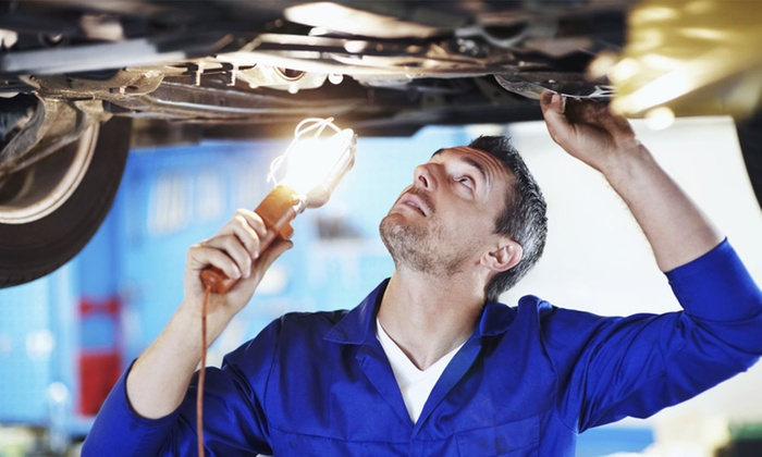 Bradley Auto Center - Bradley Auto Center: One or Three Oil Changes, Filter Changes, Tire Rotations, and Inspections at Bradley Auto Center (Up to 71% Off)