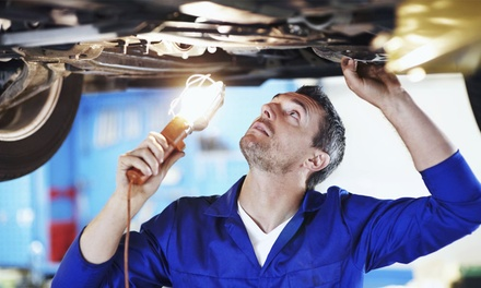 MOT Test with Optional 54-Point Service at Croxdale Fast Fit (Up to 58% Off)