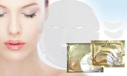 Multi-PackGesichts- und / oder Augenmasken mit Hyaluron