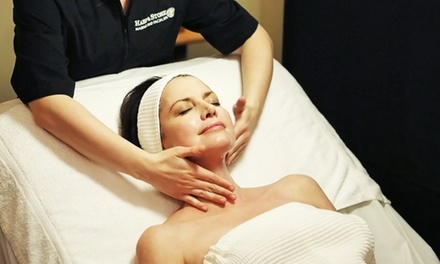 One-Hour Swedish Massage or Signature Facial at Hand & Stone Massage and Facial Spa (51% Off)