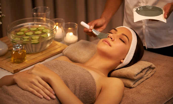 Aromatic Wholistic Health Spa - The Junction: Nourishing Organic Facial, Lymphatic-Drainage Massage, or Both at Aromatic Wholistic Health Spa (Up to 53% Off)