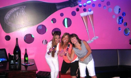 Small, Medium, or Large Private Karaoke Room with a Refreshments Credit at Revolution Karaoke (Up to 48% Off)