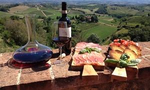 Pietraserena di Arrigoni: Tour di 2 ore in vigneto e cantina con degustazione per 2, 4, 6 o 8 persone da Az. Agr. Pietraserena (sconto fino a 57%)