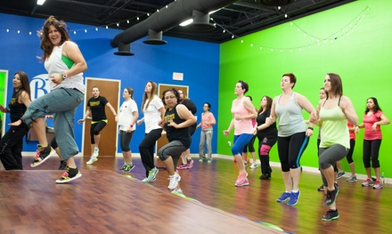 Punchcard for 5 or 10 Zumba or Piloxing Classes at Brickhouse Cardio Club (Up to 51% Off)