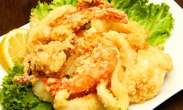 Isola Felice - Isola Felice: Menu con 1 kg di pesce fritto e vino in zona Crocetta