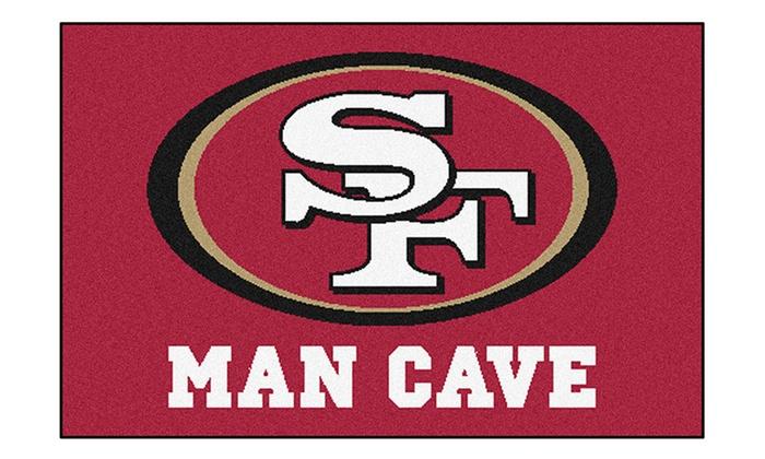 San Francisco 49ers Man Cave Starter Mat: San Francisco 49ers Man Cave Starter Mat