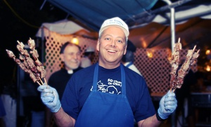 One-day Admission At The 55th Annual Greek Funstival For 4, 6, Or 10 (50% Off)