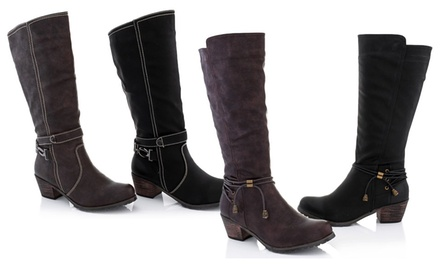 Lady Godiva Kelly Heeled Boots. Multiple Styles Available. Free Returns.