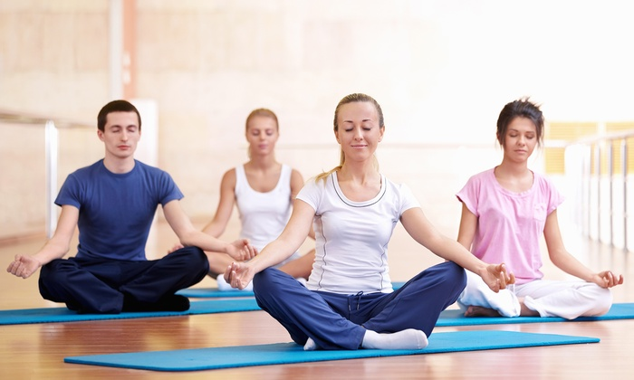Power Life Yoga - Multiple Locations: $39 for Five Classes at Power Life Yoga ($80 Value)