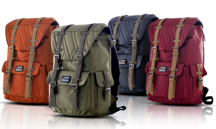 Olympia USA Water-Resistant Hopkins Rucksack