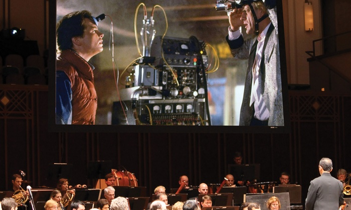 """Back to the Future - Times-Union Center for the Performing Arts: """"Back to the Future: Film with Orchestra"""" Performed by the Jacksonville Symphony on Saturday, March 12, at 7:30 p.m."""
